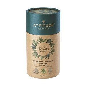 ATTITUDE Přírodní tuhý deodorant  SUPER LEAVES  - bez vůně 85 g