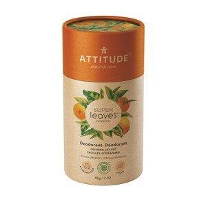 ATTITUDE Přírodní tuhý deodorant  SUPER LEAVES  - pomerančové listy 85 g