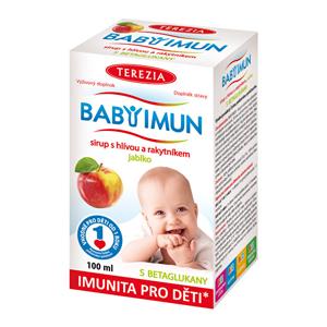 Terezia Company Baby Imun sirup s hlívou a rakytníkem příchuť jablko 100 ml
