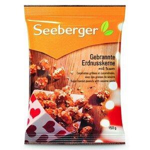 Seeberger Pražené arašídy v cukru se sezamovými semínky 150 g