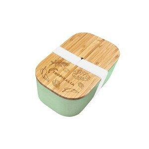 Tropikalia Lunch box L s oddělovačem - Mint