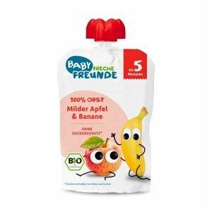 Freche Freunde BIO Ovocná kapsička Jablko a banán 100 g