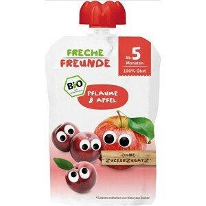 Freche Freunde BIO Ovocná kapsička Švestka a jablko 100 g