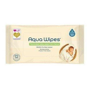 Aqua Wipes EKO dětské vlhčené ubrousky, 12 ks
