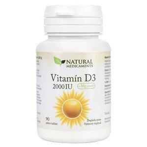 Natural Medicaments Vitamín D3 2000 IU 90 tablet