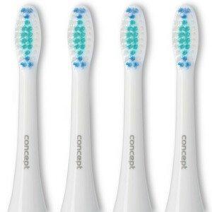 Concept ZK0001 Náhradní hlavice k zubním kartáčkům ZK4000, ZK4010, ZK4030, ZK4040, Daily Clean, 4 ks