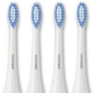 Concept ZK0002 Náhradní hlavice k zubním kartáčkům ZK4000, ZK4010, ZK4030, ZK4040, Soft Clean, 4 ks