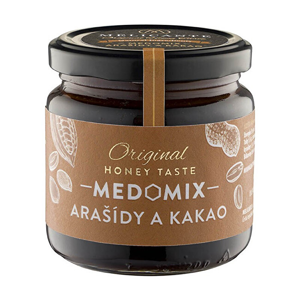 HoneyMix Med s arašídy a kakaem 230 g