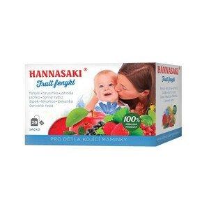 Čaje Hannasaki Fruit fenykl - pro děti a kojící maminky 40 g