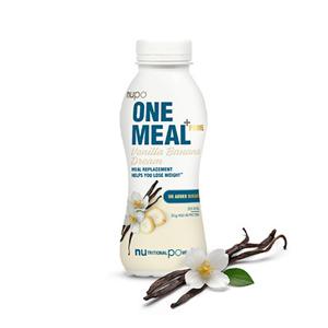 NUPO ONE MEAL + PRIME hotový nápoj Vanilla Banana Dream 372 g
