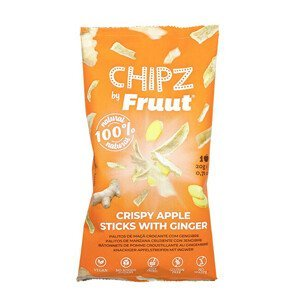 Fruut Sušené jablečné křupavé kousky se zázvorem 20 g