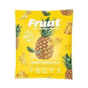 Fruut Sušené ananasové křupavé plátky 20 g