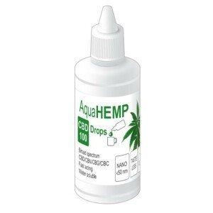 OVONEX AquaHEMP DROPS broad spectrum - 50 ml CBD 100
