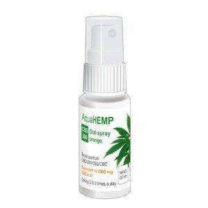 OVONEX AquaHEMP spray ORANGE broad spectrum CBD 200 - 25 ml