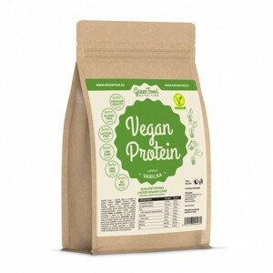 GreenFood Nutrition GF Vegan protein příchuť vanilka 750 g