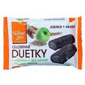 Nature Line Duetka sušenky celozrnné 50 g