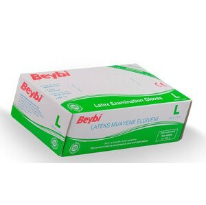 Beybi Rukavice latex L 100 ks