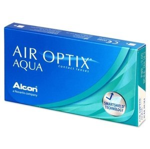 Alcon Air Optix Aqua 6 čoček -4,50