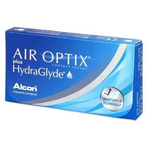 Alcon Air Optix Plus HydraGlyde 6 čoček -0,75