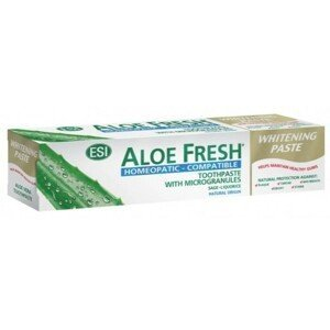 ESI Zubní pasta ESI AloeFresh Homeopatic 100 ml