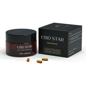 CBD STAR CBD KAPSLE – 10% CBD 30 kapslí