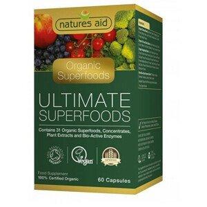 Natures Aid Extrakty superpotravin a enzymů 60 tablet