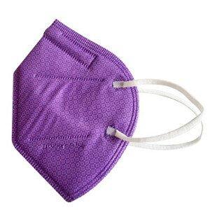 Balerina Nano respirátor FFP2 - fialový