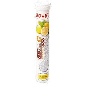 Green-Swan GS Extra C 500 šumivý citron 20+5 tablet