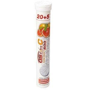 Green-Swan GS Extra C 500 šumivý červený pomeranč 20+5 tablet