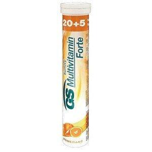 Green-Swan GS Multivitamin Šumivý Forte Pomeranč 20 + 5 tablet