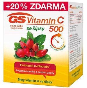 Green-Swan GS Vitamin C 500 + šípky 50 + 10  tablet