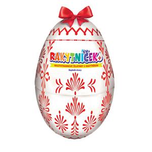 Terezia Company RAKYTNÍČEK+ multivitaminové želatinky 50 ks - Velikonoční vejce bílé