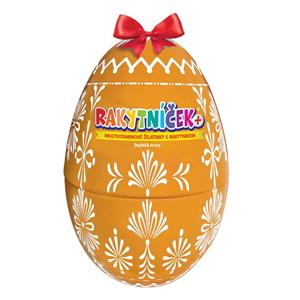 Terezia Company RAKYTNÍČEK+ multivitaminové želatinky 50 ks - Velikonoční vejce žluté