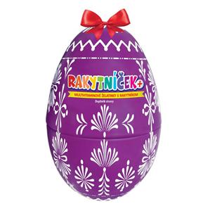 Terezia Company RAKYTNÍČEK+ multivitaminové želatinky 50 ks - Velikonoční vejce fialové