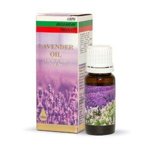 HERBS OF BULGARIA - LAVENDER Levandulový olej Roza Invest Kapital olej 10 ml