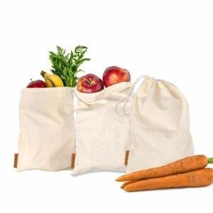 GoodWays Plátěné pytlíky na ovoce a zeleninu 3 ks