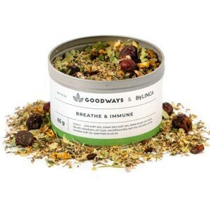 GoodWays Breathe & Immune bylinný čaj 60 g