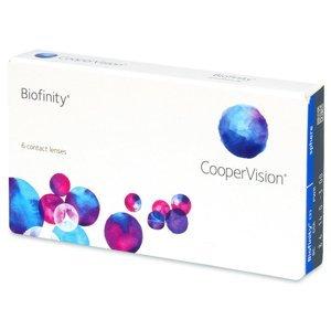 CooperVision Biofinity 6 čoček -0,50