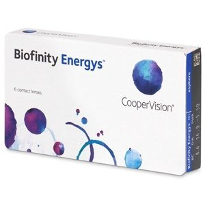 CooperVision Biofinity Energys 6 čoček -4,00