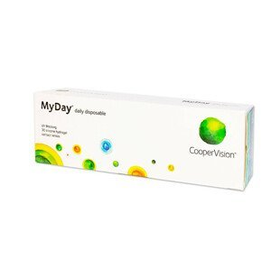 CooperVision MyDay Daily Disposable 30 čoček +1,25