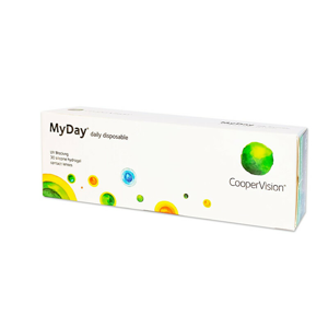 CooperVision MyDay Daily Disposable 30 čoček +6,50