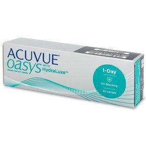 Johnson&Johnson Acuvue Oasys 1-Day with HydraLuxe 30 čoček -1,00