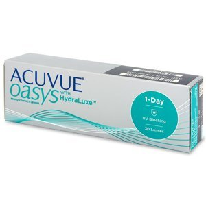 Johnson&Johnson Acuvue Oasys 1-Day with HydraLuxe 30 čoček +5,00