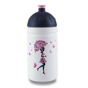 R&B Zdravá lahev - Dívka s deštníkem 0,5 l