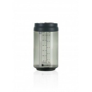 LES ARTISTES Cestovní láhev 330 ml Transparent Dark Grey