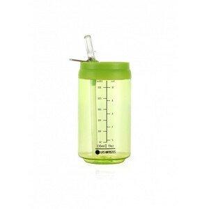 LES ARTISTES Cestovní láhev 330 ml Transparent Green