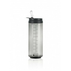LES ARTISTES Cestovní láhev 500 ml Transparent Dark Grey