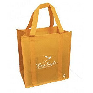 KPPS Ekologická nákupní taška 25l ECO style oranžová