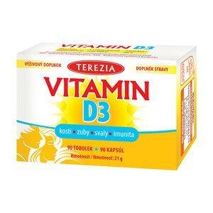 Terezia Company TEREZIA Vitamin D3 1000 IU 90 tobolek
