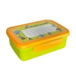R&B Zdravá sváča komplet box - Zelená/žlutá